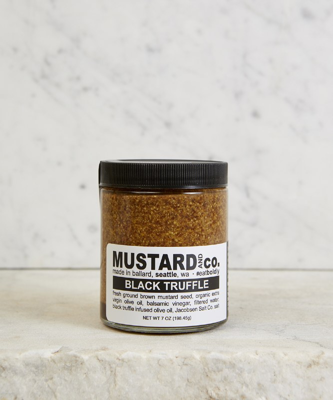 Mustard & Co. Black Truffle Mustard, 6oz