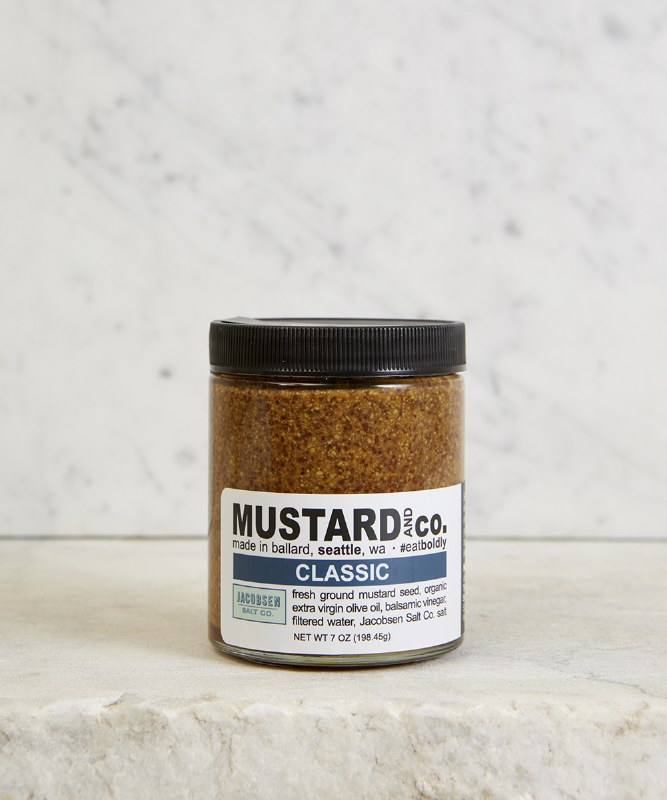 Mustard & Co. Classic Mustard, 6oz