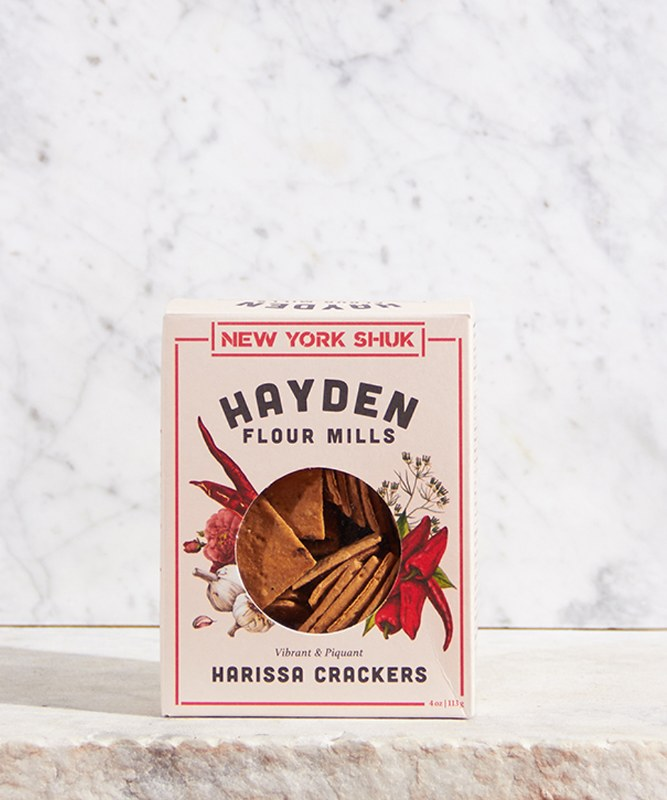 New York Shuk/Hayden Flour Harissa Crackers, 4oz