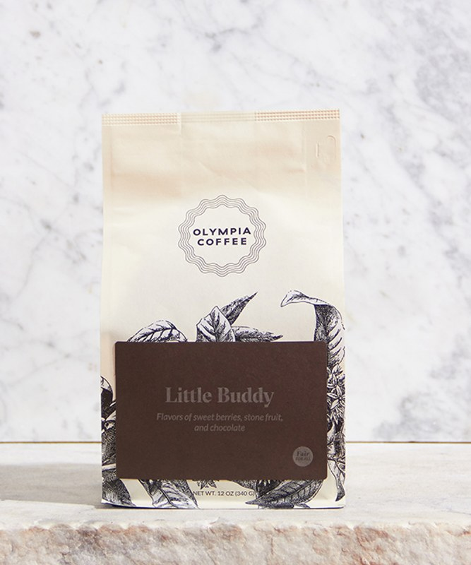 Olympia Coffee Little Buddy Blend, 12oz