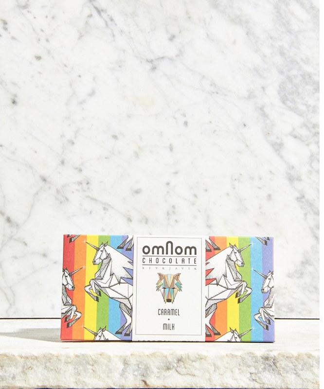 Omnom Caramel Milk Chocolate Pride Bar, 60g