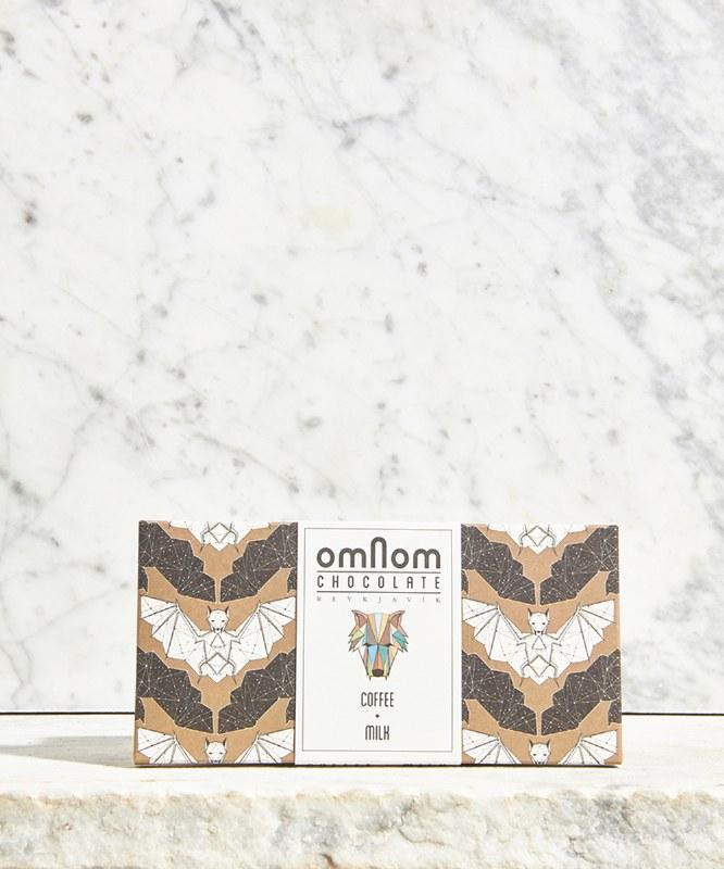Omnom Coffee & Milk Chocolate Bar, 60g