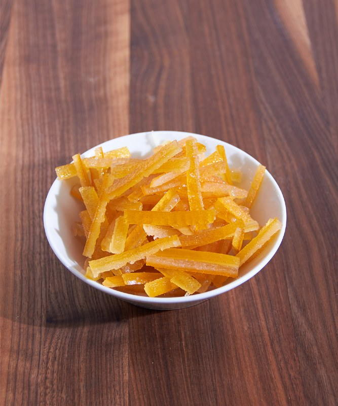 DeLaurenti Candied French Orange Strips, 4oz