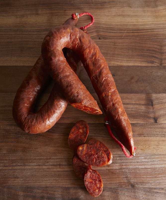 Palacios Hot Spanish Chorizo, 8oz