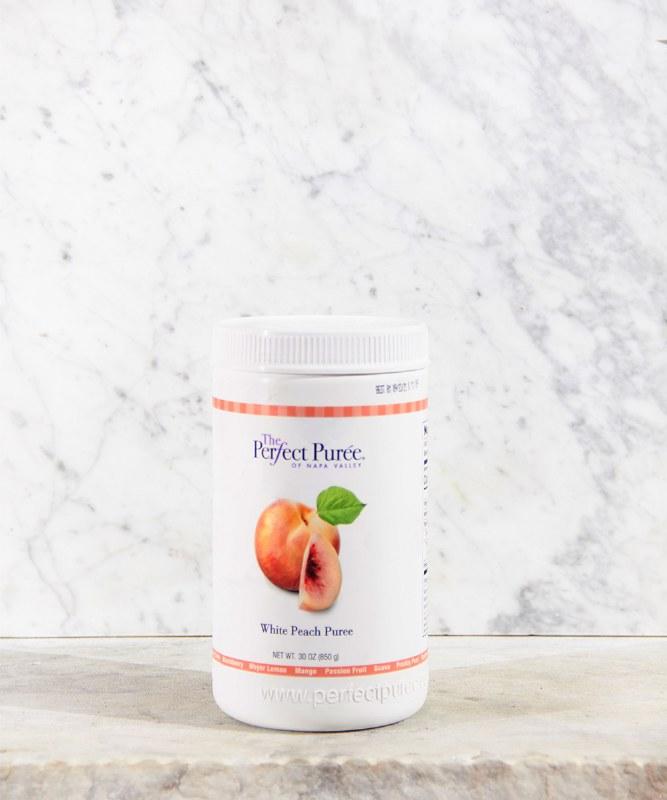 Perfect Puree White Peach Puree, 30oz