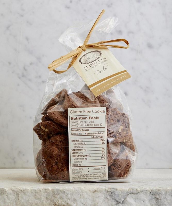Primo Pan GF Chocolate Hazelnut Cookies, 12oz