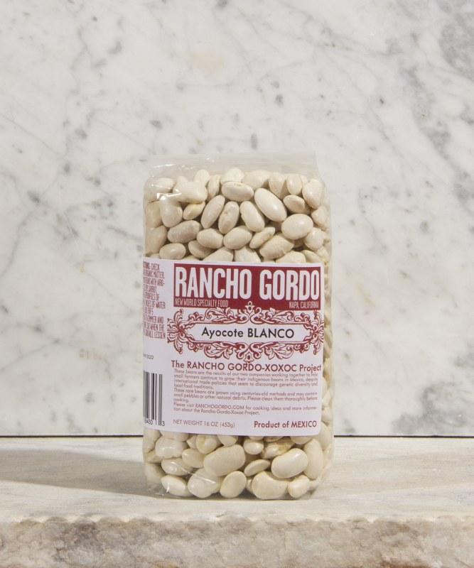 Rancho Gordo Ayocote Blanco Beans, 16oz