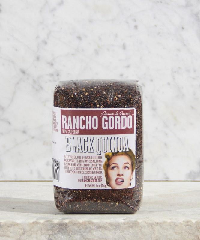 Rancho Gordo Black Quinoa, 16oz
