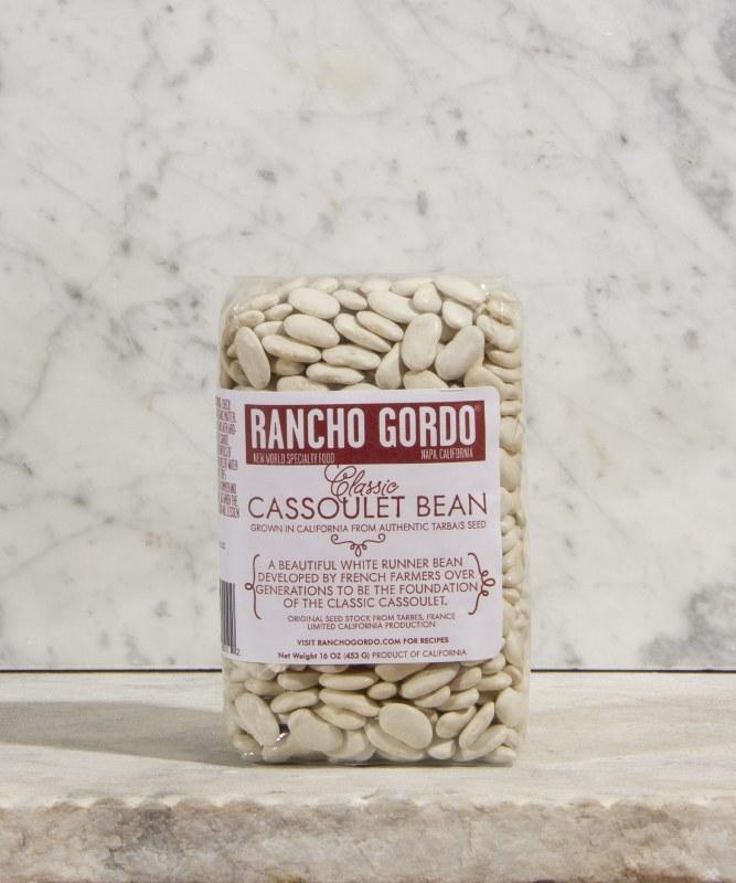 Rancho Gordo Cassoulet (Tarbais) Beans, 16oz