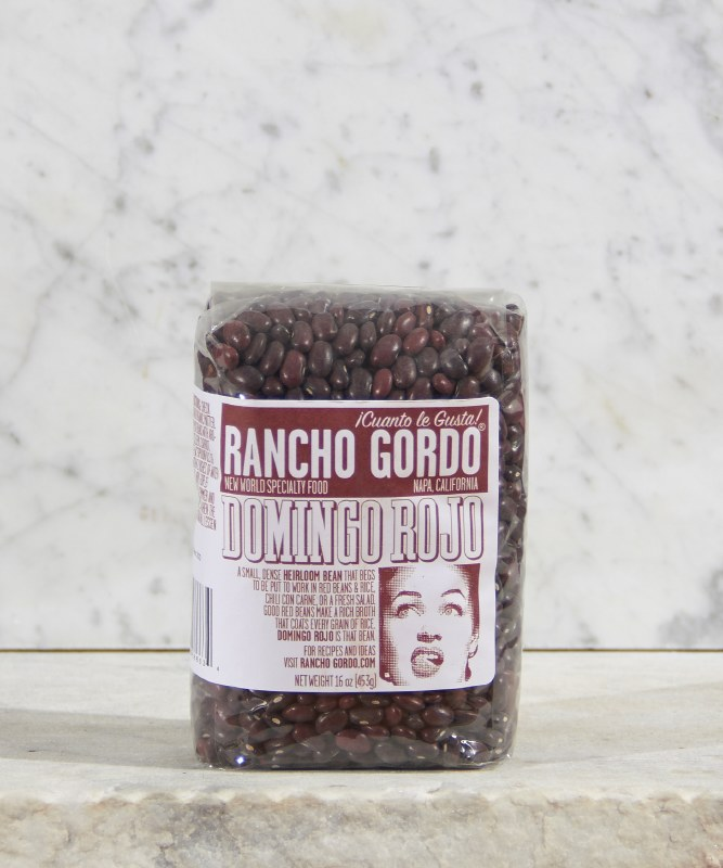Rancho Gordo Domingo Rojo Beans, 16oz