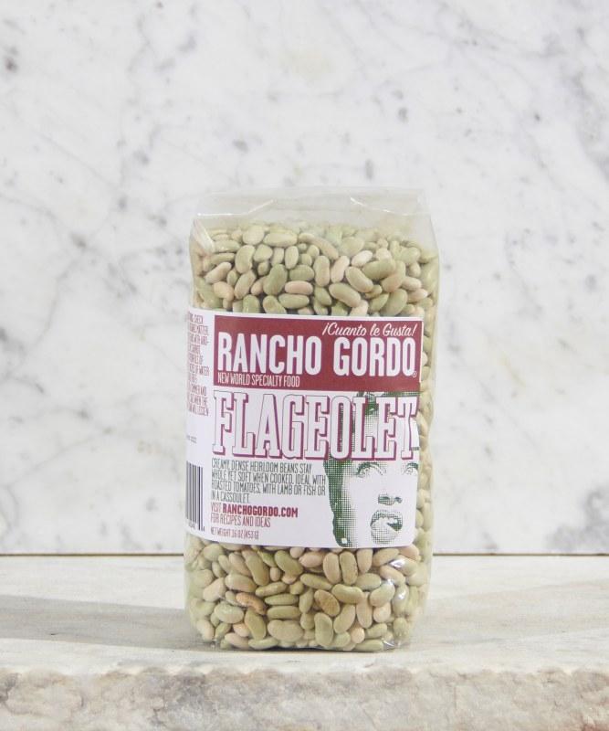 Rancho Gordo Flageolet Beans, 16oz