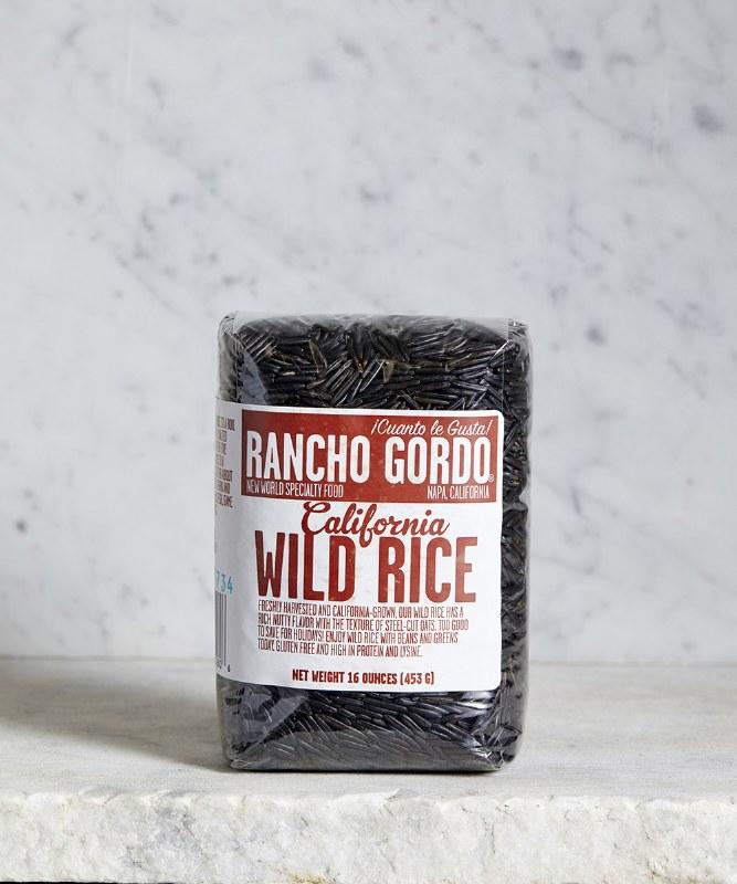 Rancho Gordo Wild Rice, 16oz