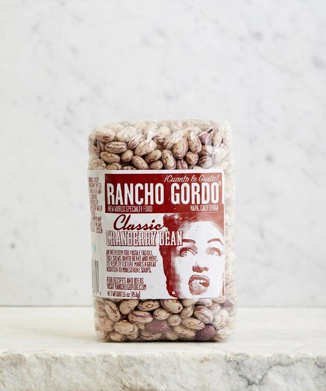Rancho Gordo Cranberry Beans, 16oz