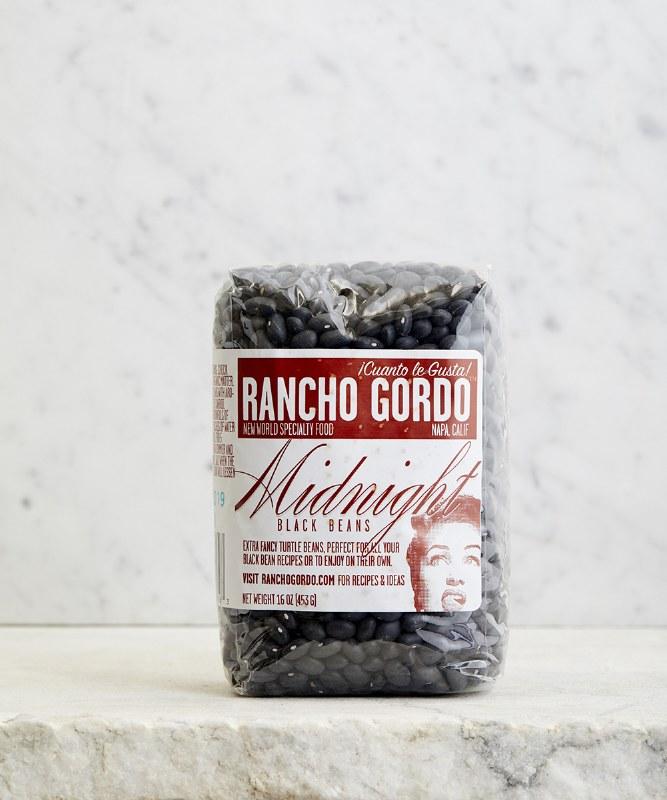 Rancho Gordo Midnight Black Beans, 16oz