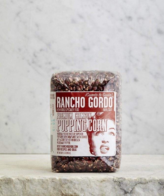 Rancho Gordo Crimson Popping Corn, 16oz