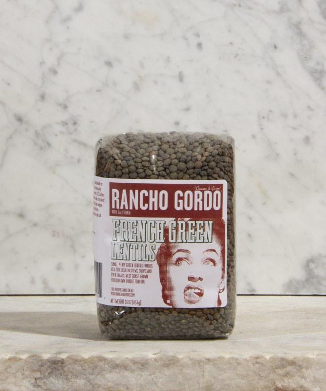 Rancho Gordo French Green Lentils, 16oz