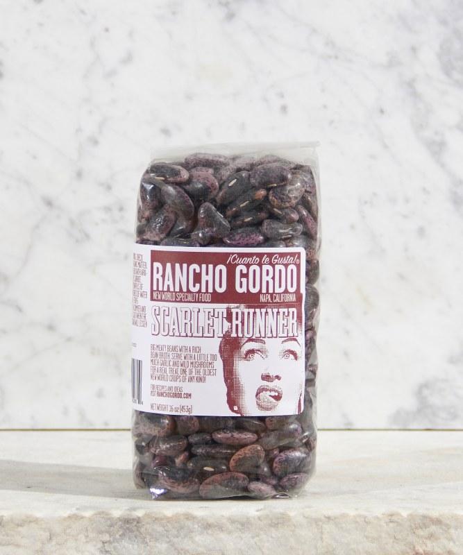 Rancho Gordo Scarlet Runner Beans, 16oz