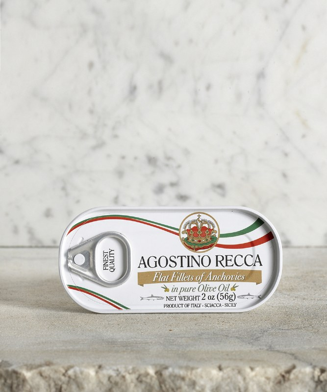 Agostino Recca Anchovies in Olive Oil, 56g