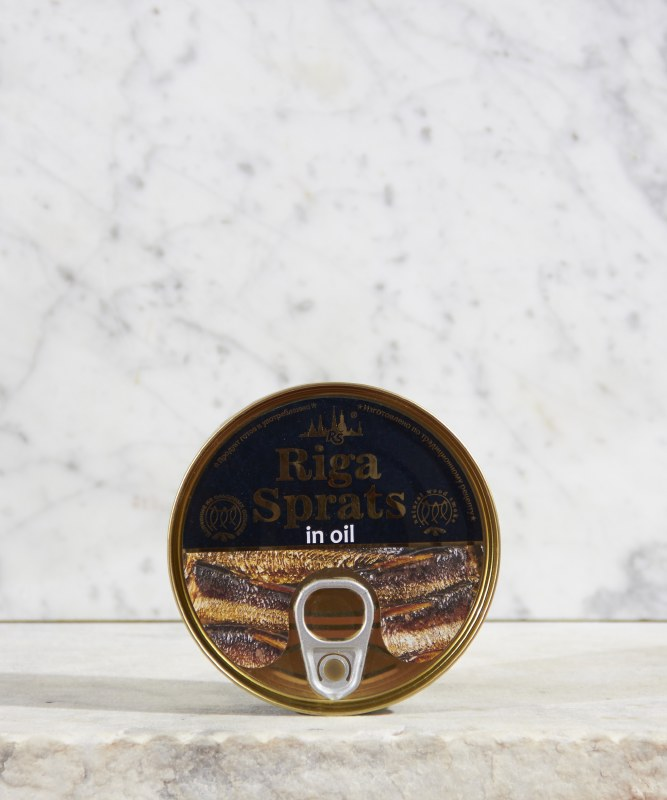 Riga Smoked Sprats, 5.6oz