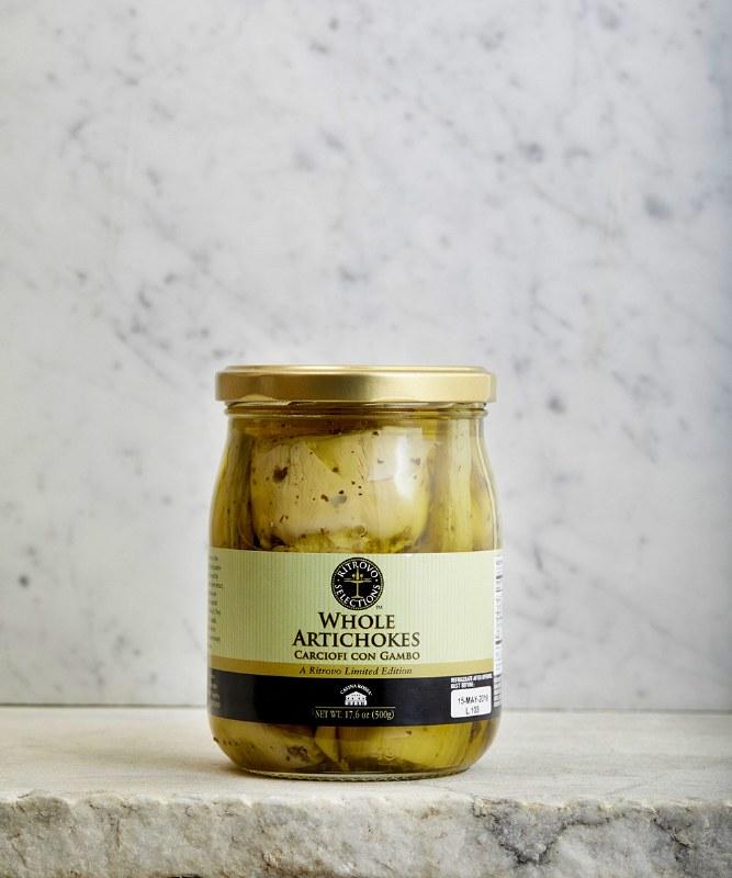 Ritrovo Selections Whole Artichokes, 500g