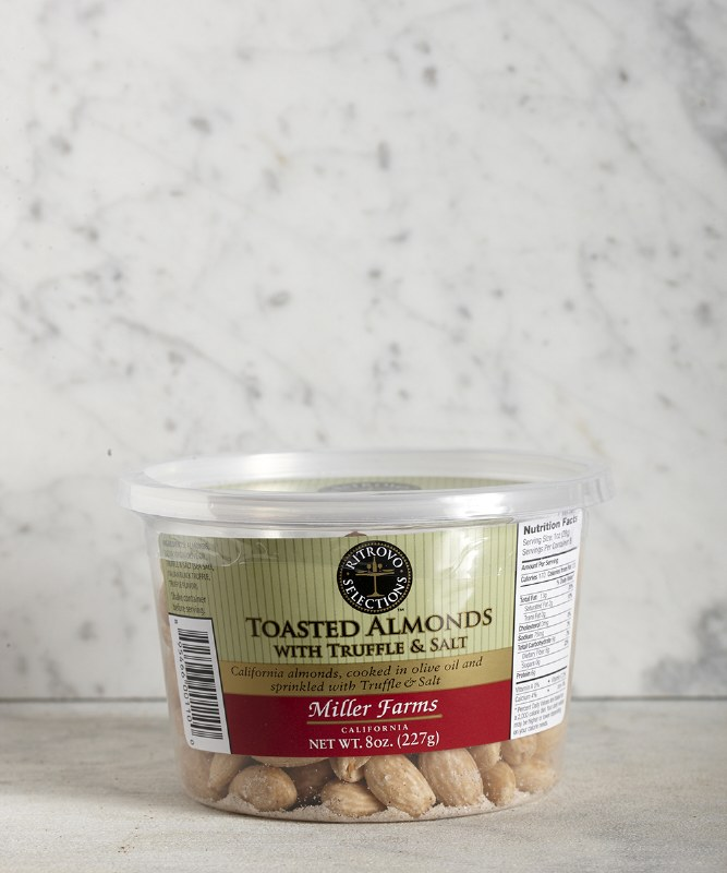 Miller Farms Almonds Truffle & Salt, 8oz