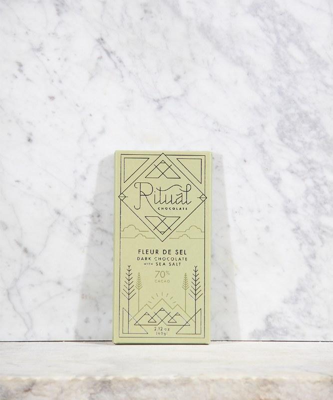 Ritual Fleur de Sel 70% Bar, 60g