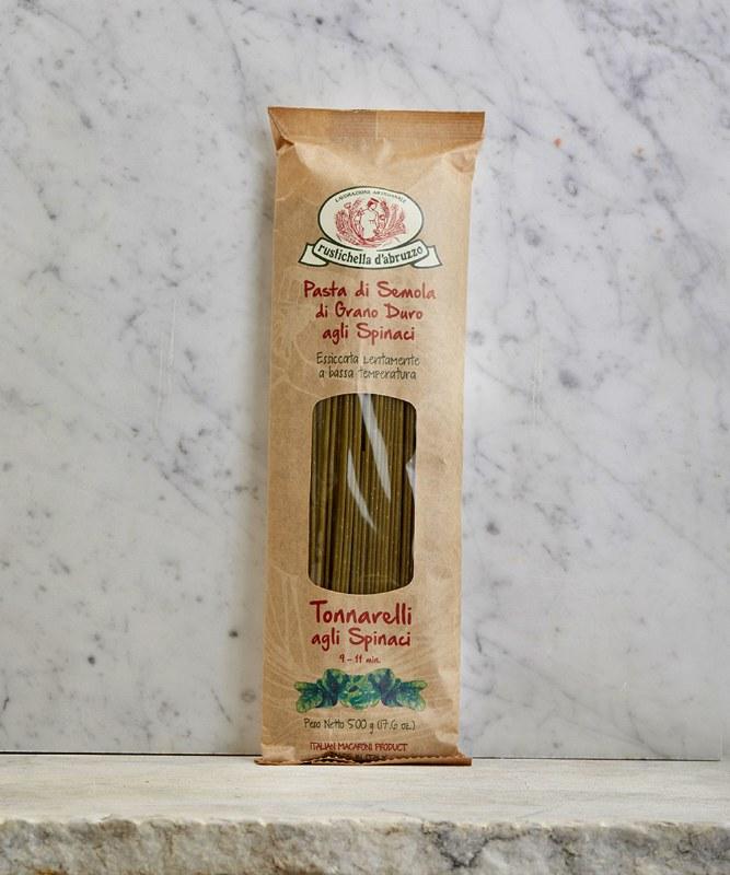 Rustichella d'Abruzzo Spinach Tonnarelli, 500g