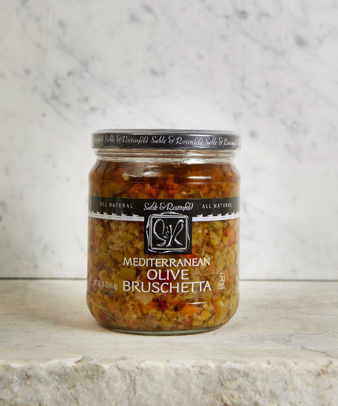 Sable & Rosenfeld Olive Bruschetta, 454g