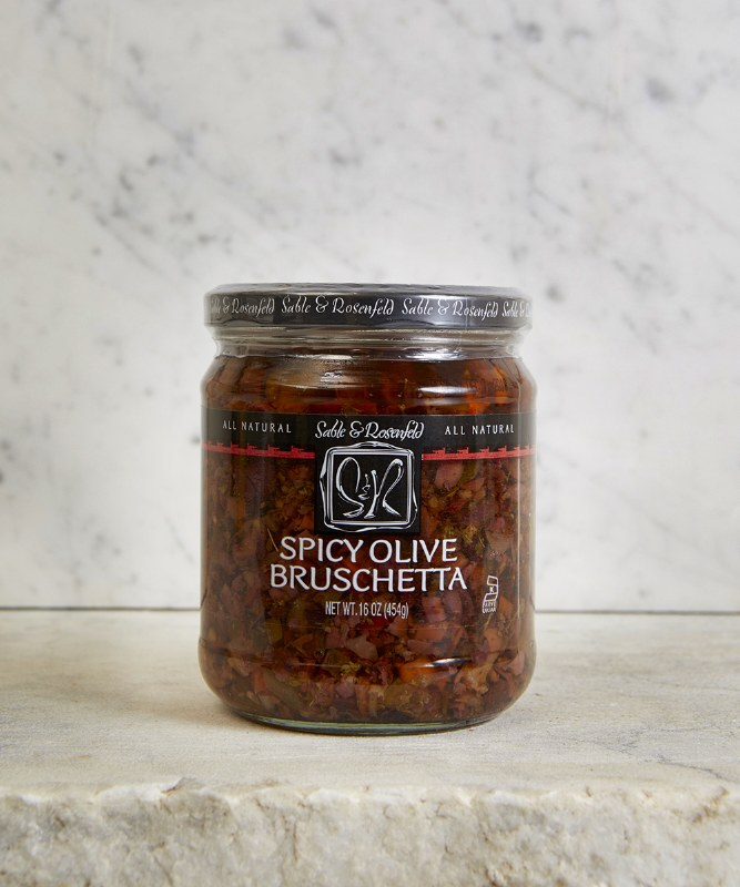 Sable & Rosenfeld Spicy Olive Bruschetta, 454g