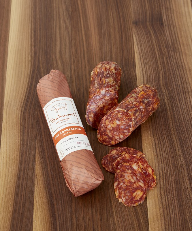 Coro by Salumi Hot Sopressata, 5oz