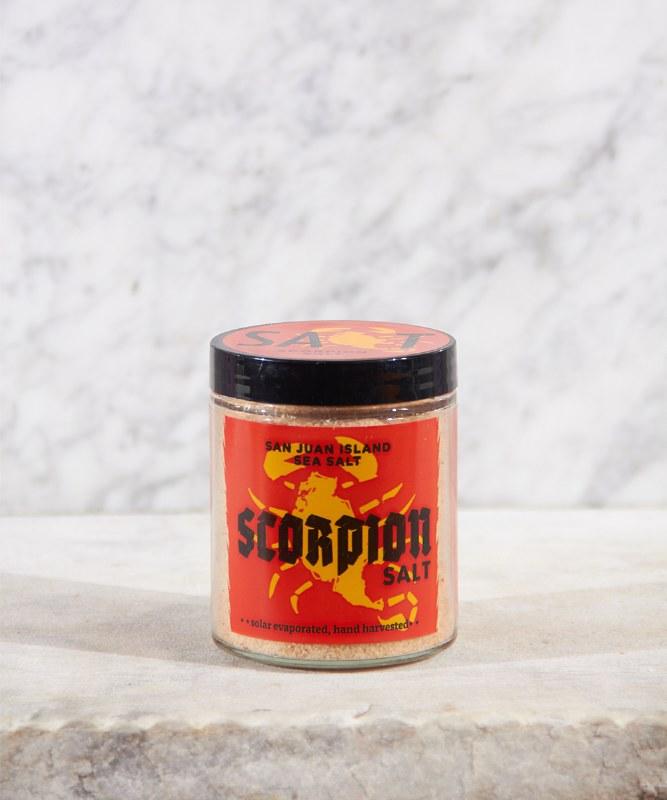 San Juan Island Scorpion Salt, 4.5oz