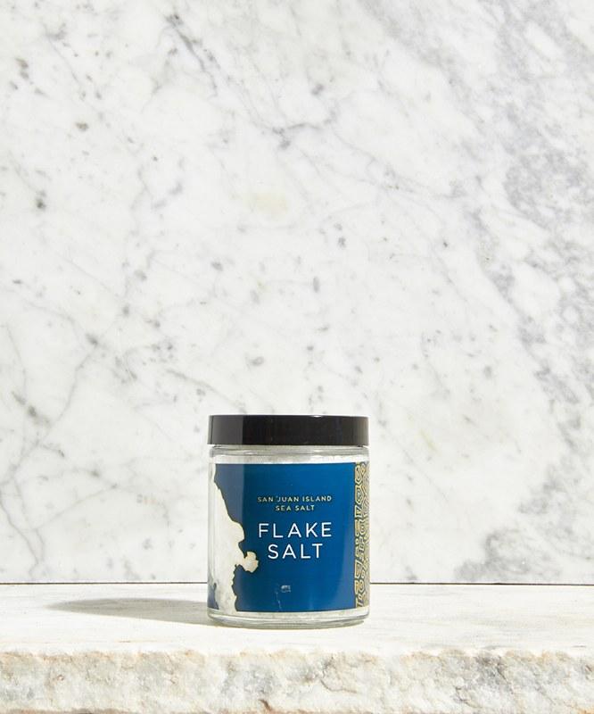San Juan Island Flake Salt, 4oz