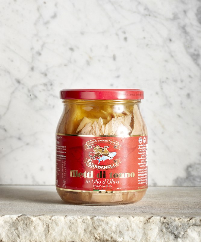 Sardanelli Tuna in Olive Oil, 540g