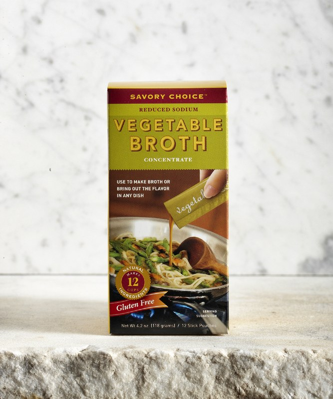 Savory Choice Vegetable Broth, 5.1oz