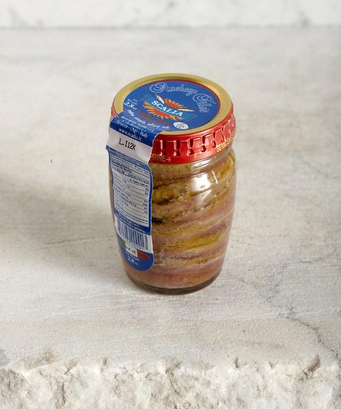 Scalia Benedetto Anchovies in Olive Oil, 85g