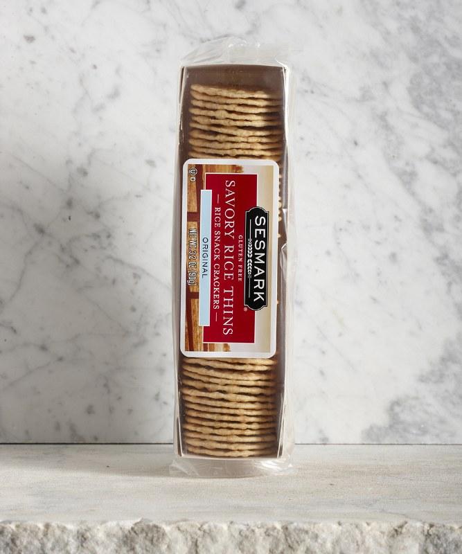 Sesmark Savory Rice Thins, 90g