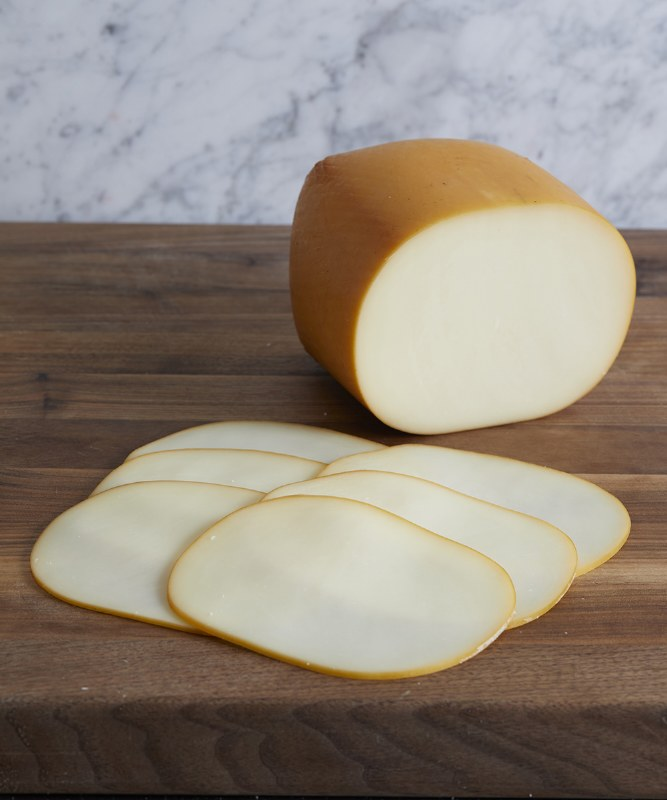 Smoked Mozzarella, Sliced