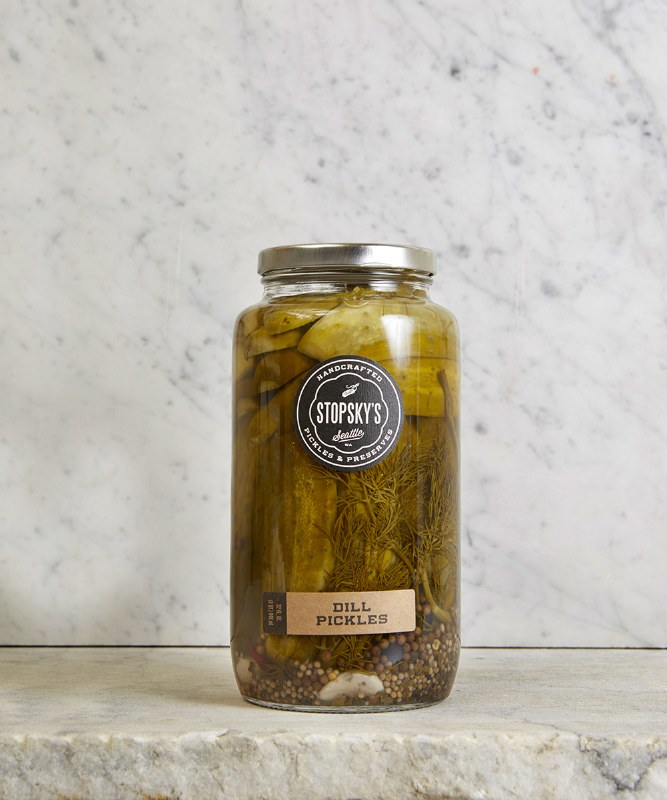 Stopsky's Dill Pickles, 32oz