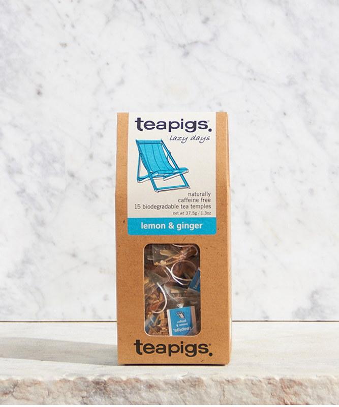 Teapigs Lemon & Ginger, 15ct