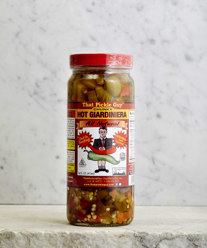 That Pickle Guy Hot Giardiniera, 16oz