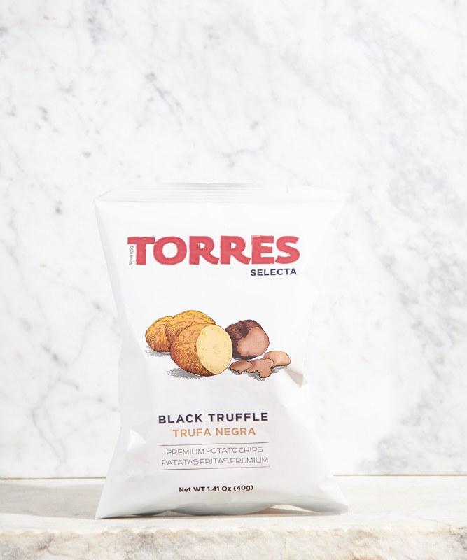 Torres Black Truffle Chips, 40g
