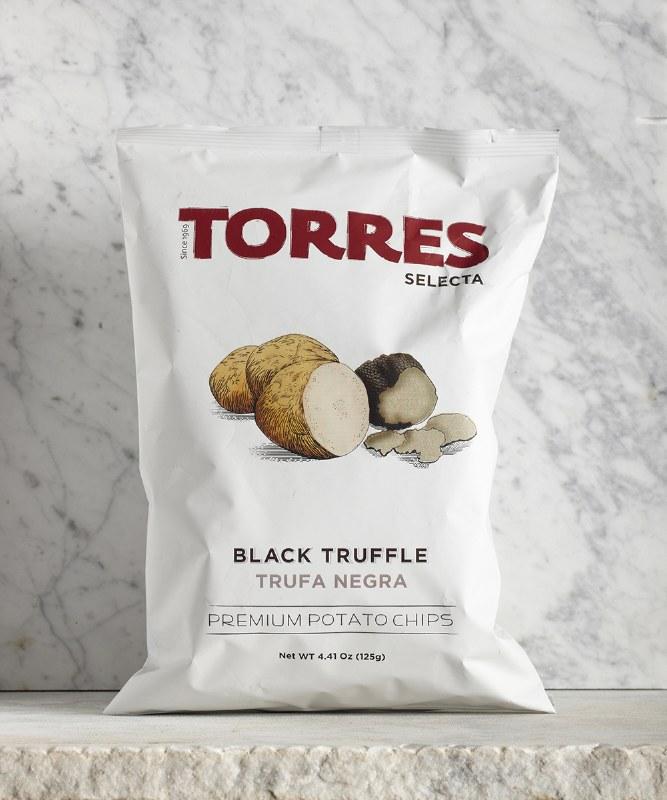 Torres Black Truffle Chips, 125g