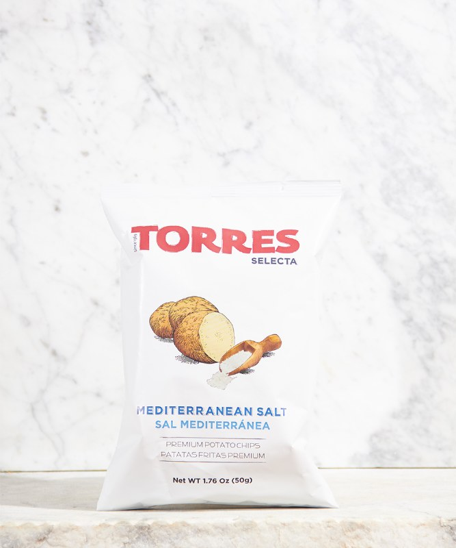 Torres Sea Salt Chips, 50g