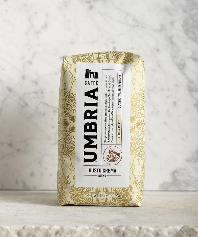 Caffe Umbria Gusto Crema, 12oz