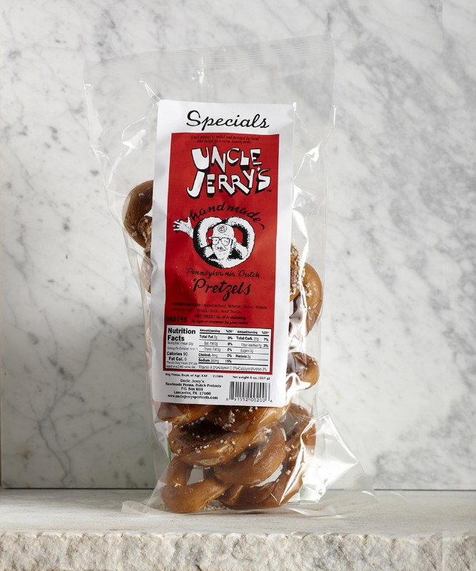Uncle Jerry Specials Pretzel, 8oz