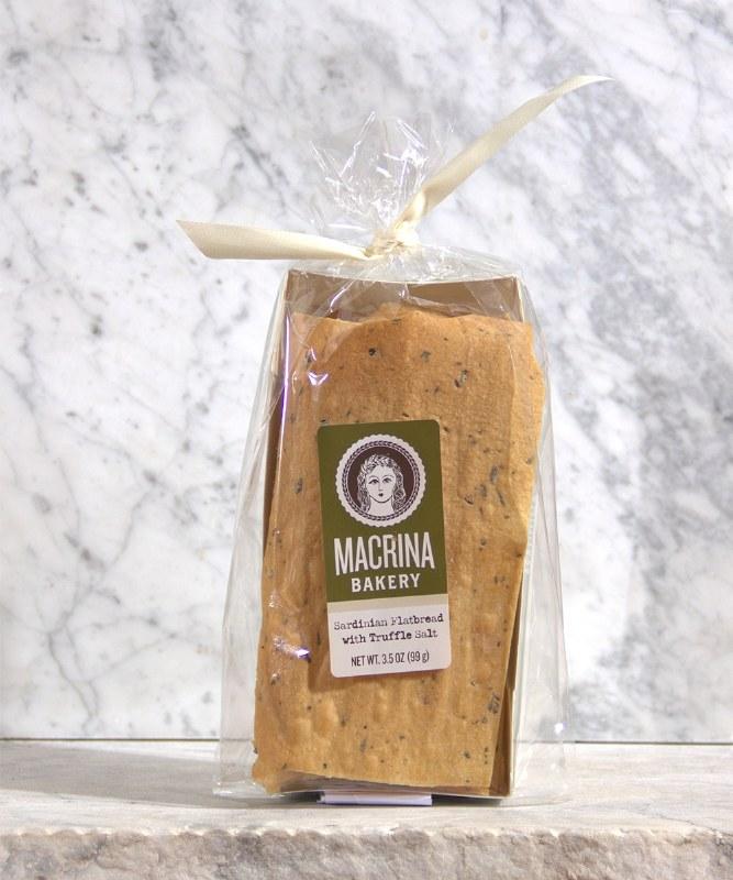 Macrina Sardinian Flatbread w/Truffles