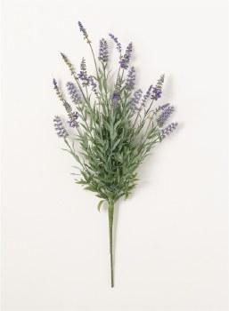 Lavender Bush Floral Pick