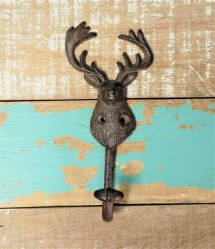 Deer Head Hook