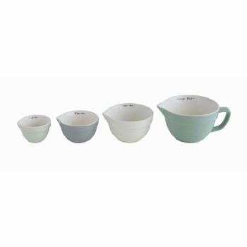 Pastel Stoneware Measuring Cup