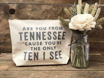 Tennessee Makeup Bag